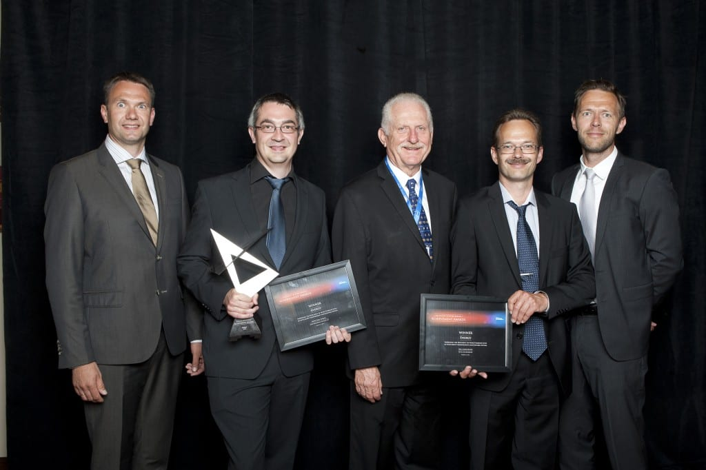2013 aug Bjarke modtager en pris i Texas GSDAA201317