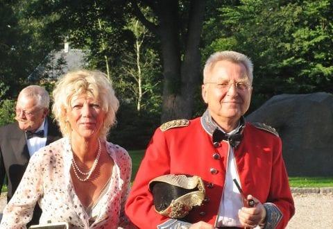 Kurt og Karen Margrethe  til fødselsdag, foto: IDM