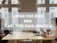 Under fire øjne med 180Grader